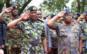 Uhuru in combat gear