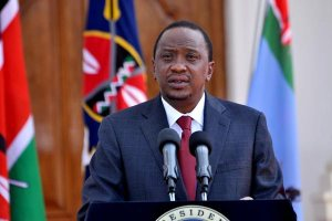 President Kenyatta has signed into law the the Security (Amendment) Act 2014.. FILE PHOTO | SALATON NJAU |  NATION MEDIA GROUP