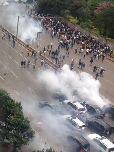 cord IEBC PROTESTS
