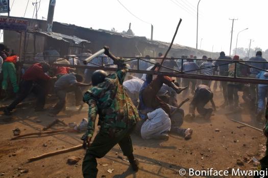 Election violence - 2007
