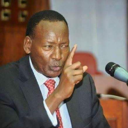 The late Interior CS Joseph Nkaissery.