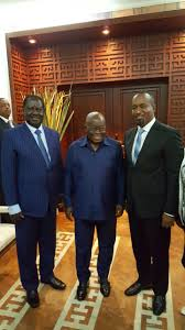 Raila and Joho in Ghana