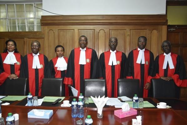Supreme Court Judges 2017