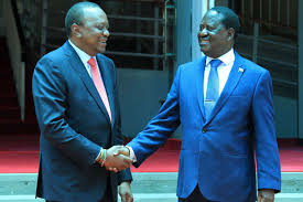 The golden handshake that calmed political storm in Kenya - Daily Nation